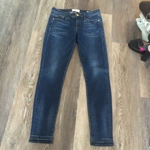 Frame Le Skinny de Jeane ankle length  jeans